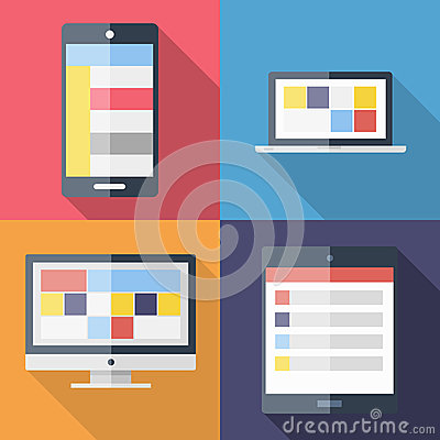 Application menu template