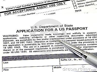 Application For A U.S. Passport