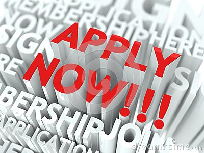 Apply Now Concept.