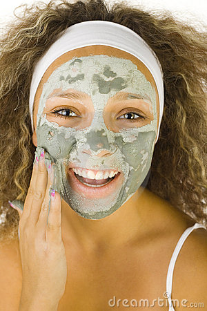 Applying green mask