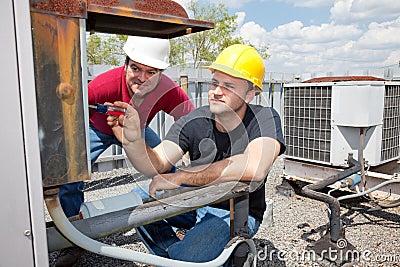 Apprentice Air Conditioning Repairman