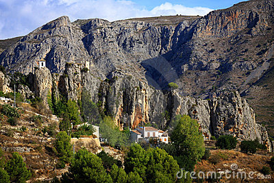 Approach to Guadalest