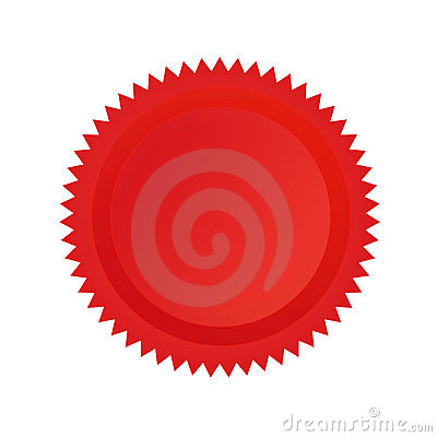 Approval seal red