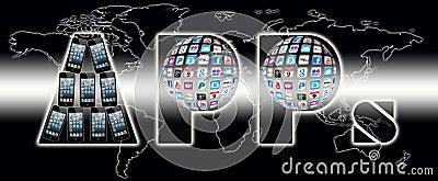 Apps communication world