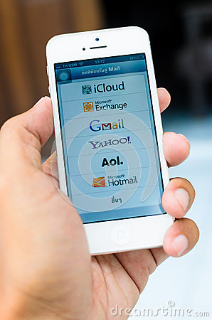 Apps email Editorial Stock Photo