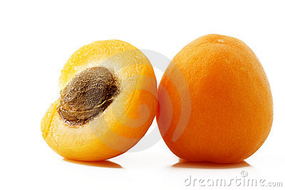 Apricot and a half