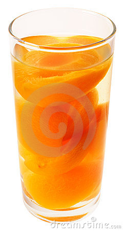 Free Apricot Halves In Syrup Royalty Free Stock Photos - 12585908