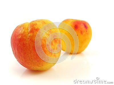 Apricot peach fruit food