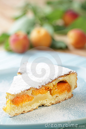 Free Apricot Pie Stock Photography - 22065292