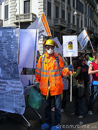 April 25, Liberation Day parade in Milan. Italy, Editorial Photo