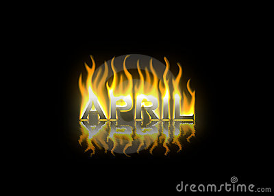 April  on Fire