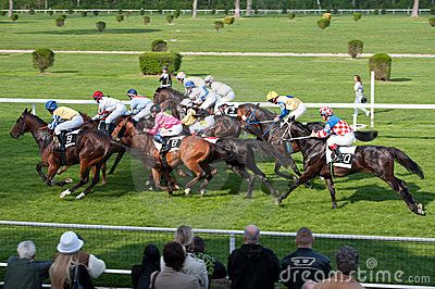 April Grand Prix 2011 in Bratislava, Slovakia Editorial Stock Photo