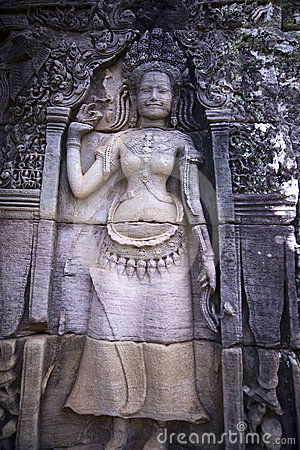 Apsara, Angkor wat, cambodia