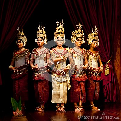 Apsara Dance, Cambodia Editorial Image