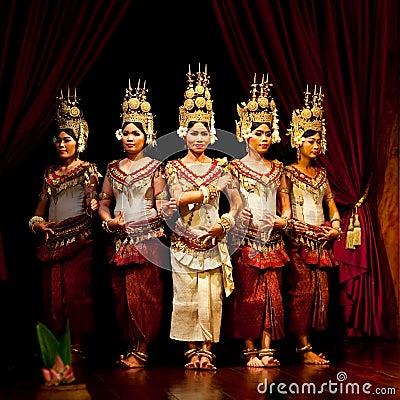 Free Apsara Dance, Cambodia Royalty Free Stock Photo - 29107495