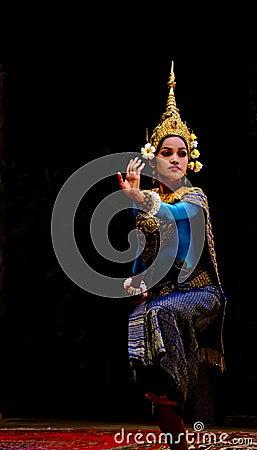 Apsara dancer Editorial Photo