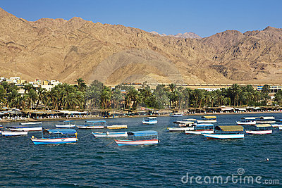 Aqaba tourist resort