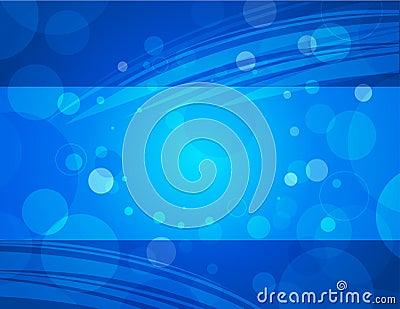Aqua blue horizontal business background