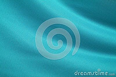 Aqua-Green Fabric Texture