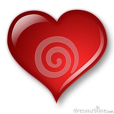 Free Aqua Heart Stock Image - 435491