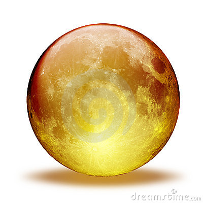 Free Aqua Moon Stock Images - 618634