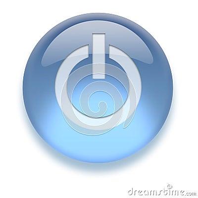 Aqua On/Off Icon