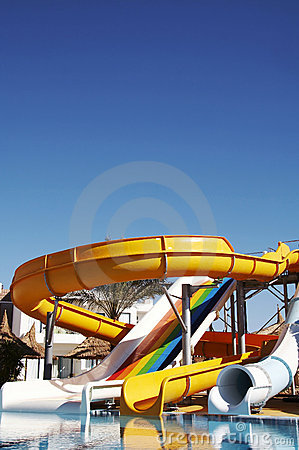 Free Aqua-park Royalty Free Stock Photos - 1754268