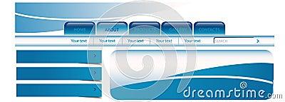 Aqua site template