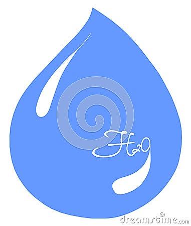 Aqua water h2o