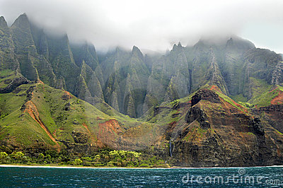 Aqua Waters of Na Pali