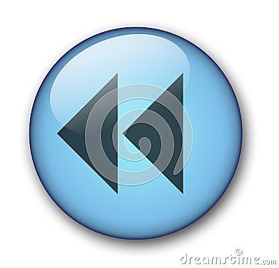 Free Aqua Web Button Stock Photography - 58282