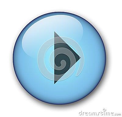 Free Aqua Web Button Stock Photography - 58292