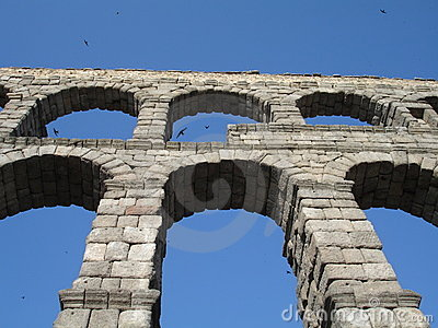 Aquaduct in Segovia