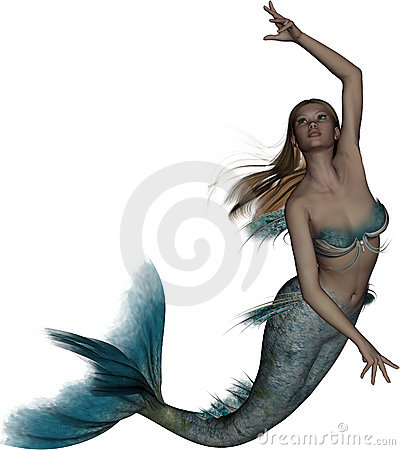 Free Aquamarina The Mermaid Royalty Free Stock Photo - 19537505