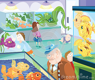 Fish Store Clipart