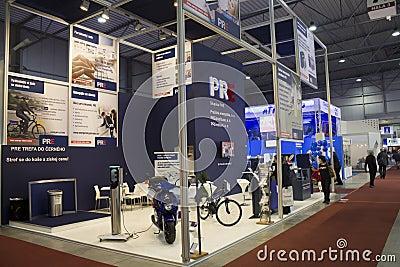 AquaTherm 2011 in Prague Editorial Stock Image