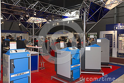 AquaTherm 2012 in Prague Editorial Image