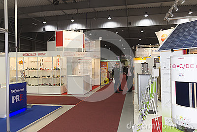 AquaTherm 2012 in Prague Editorial Photo