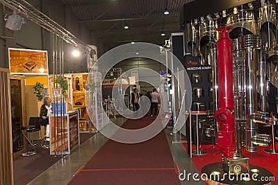 AquaTherm 2012 in Prague Editorial Stock Photo