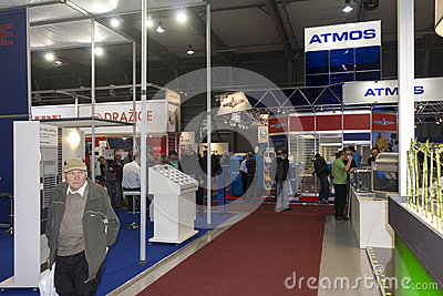 AquaTherm 2012 in Prague Editorial Stock Photo