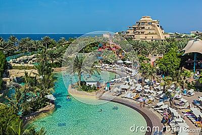 The Aquaventure Waterpark Of Atlantis Royalty Free Stock Photography Image 36157317