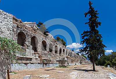 Aqueduct Arches Athens Greece