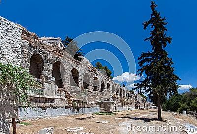 Aqueduct Arches Athens Greece
