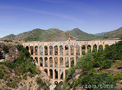 Aqueduct On Costa Del Sol. Spain Stock Photo - Image: 8183500