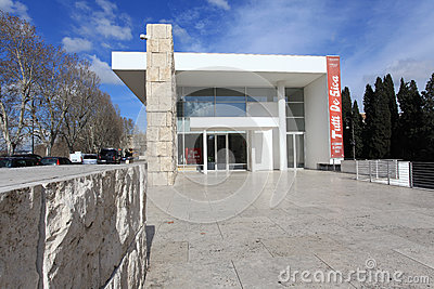 The Ara Pacis Augustae museum in Rome Editorial Image