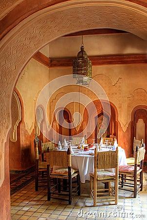 Arab dinning hall