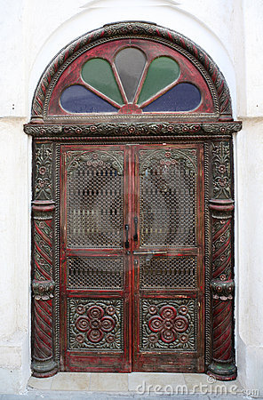 Arab door in a traditional style