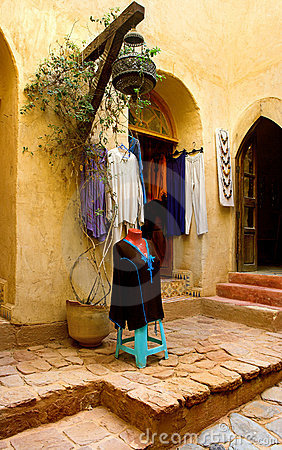 Arab fashing shop - Morocco