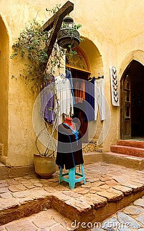 Arab fashing shop - Morocco