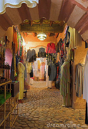 Arab fashion shop